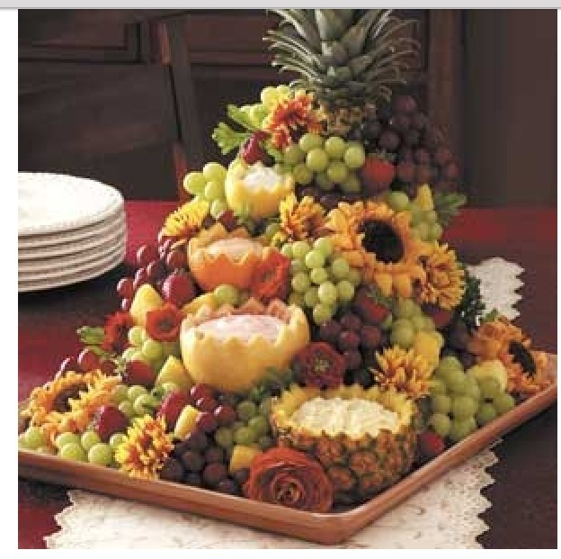 Fruit display.