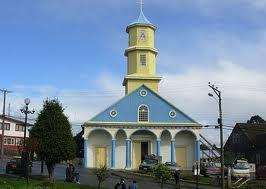 Iglesia de Chonchi Chiloé CHILE
