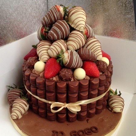 Nestle Chocolate Ribbon Cake