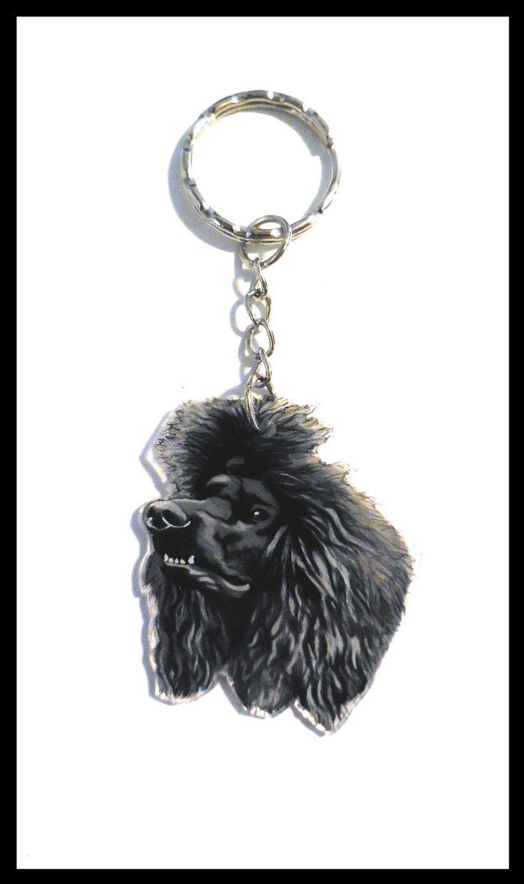 Porte clés personnalisé de votre animal en plastique fou : Porte clés par il-etait-une-fois-trois-petits-cailloux