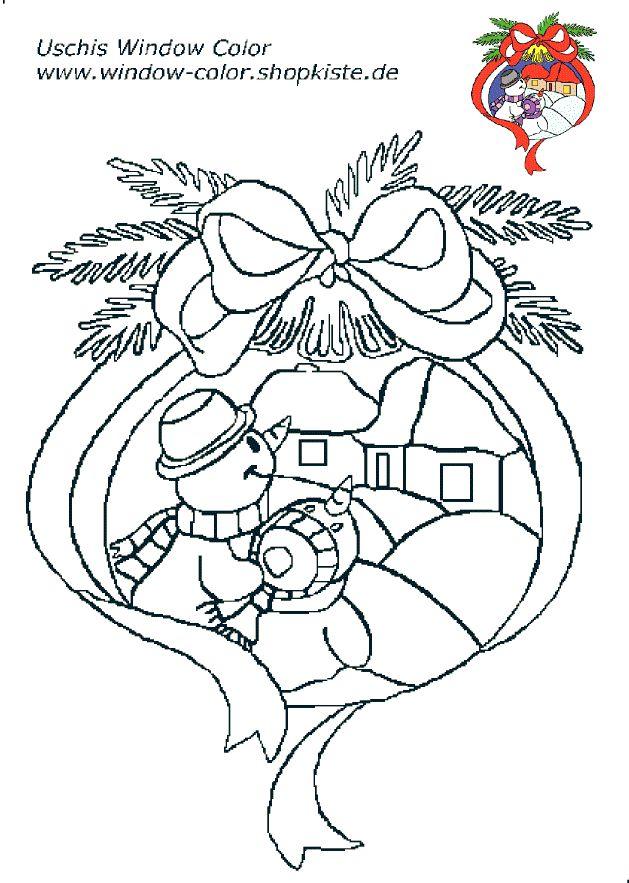 Window Color Malvorlagen Weihnachtsmann
