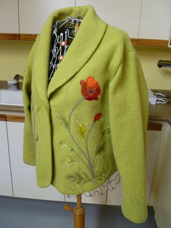 Dawn's Crafting Adventure  Another Jacket... How clever is this lady...Love both her jackets..