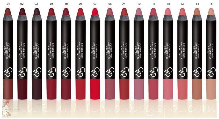golden rose matte crayon lipstick - Szukaj w Google