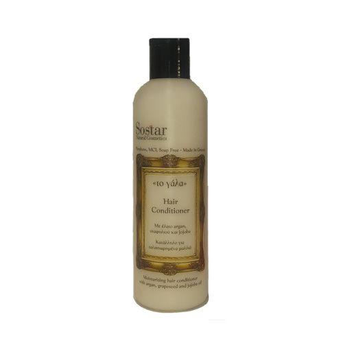 "Sostar Conditioner Μαλλιών Εντατικής Θρέψης 250ml (Σειρά ""Το Γάλα"")   Familypharmacy.gr"