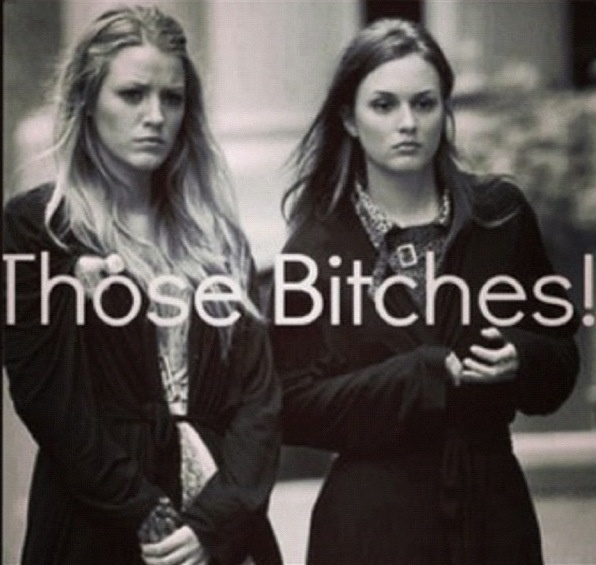 Blair and Serena @Kimberly Peterson Marshall
