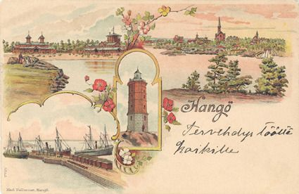 Hangö museums vykort