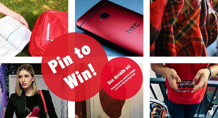 Pin to WIN! Visit for more details: http://blog.htc.com/2013/09/pin-to-win-the-htc-one-red/
