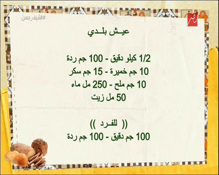 Egyptian Baladi Bread Journal Aha Egyptian