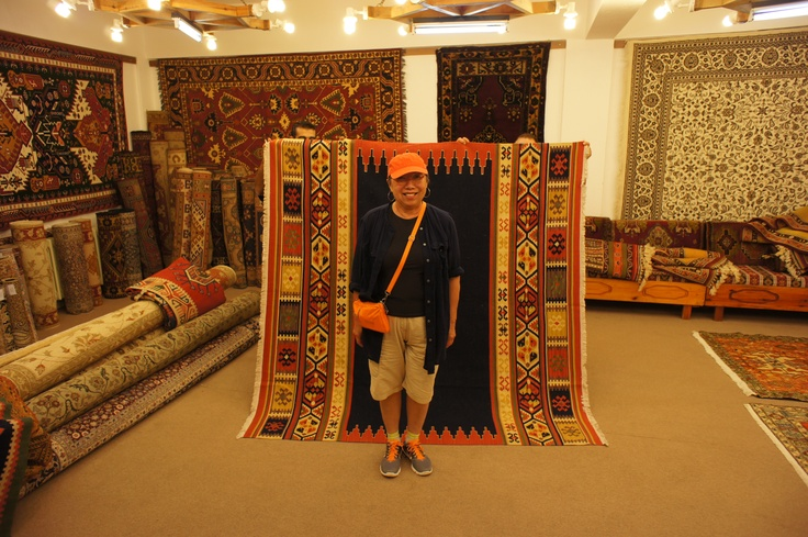 The marketing, sale, and buying of a Turkish rug