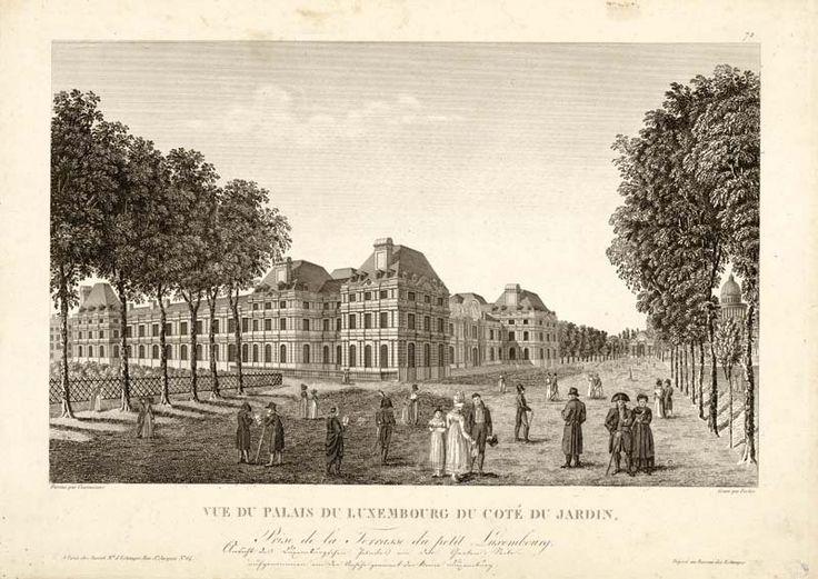 Jardin du luxembourg au 19 me si cle paris 19 me si cle for Jardin 19eme siecle