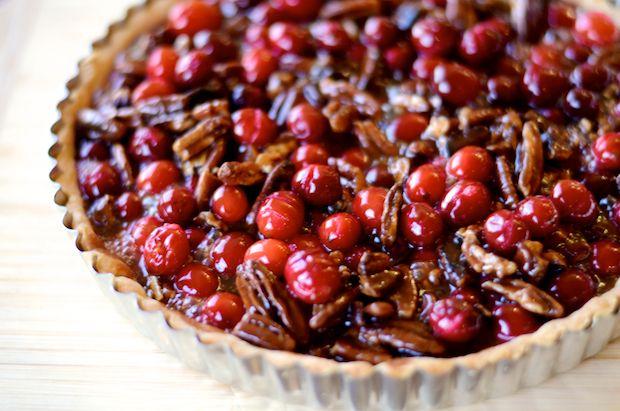 Cranberry pecan tart | Food Techniques | Pinterest