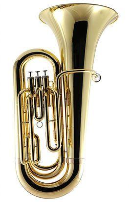 weril   Tuba - J310 Tuba 3/4 Dó 3 pistos
