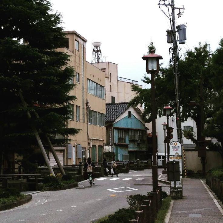 Calles de Kanazawa, Japón. Streets of Kanazawa, Japan.
