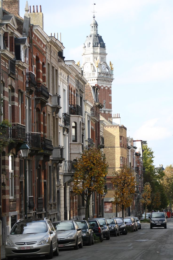 St. Gilles in fall, a great Brussels neighbourshod for a stroll.
