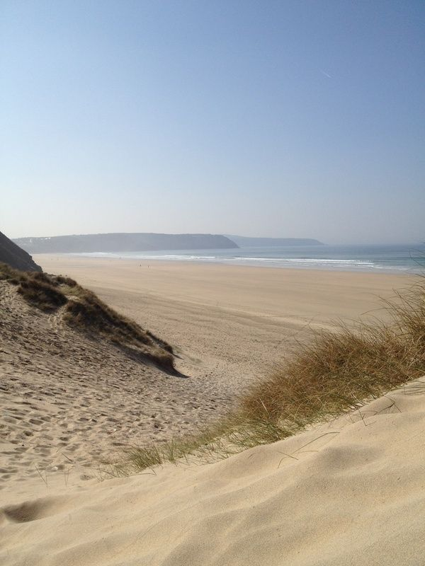 Perran sands, Cornwall