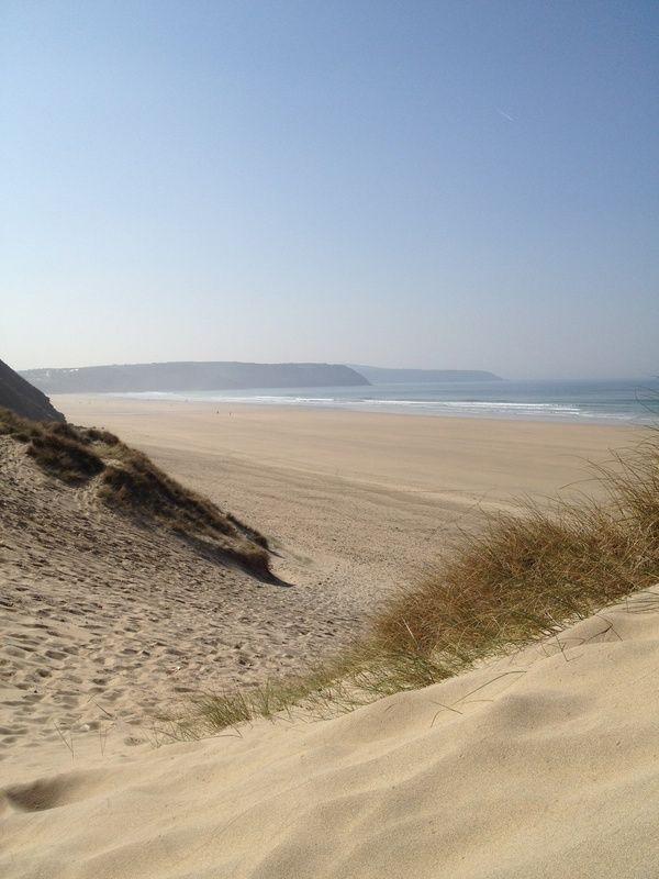 Perran sands, Cornwall