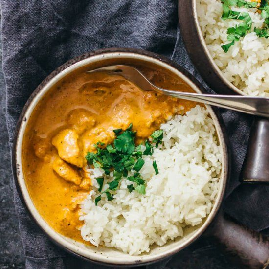 Get your Indian fix by making chicken tikka masala recipe in the Instant Pot pressure cooker.