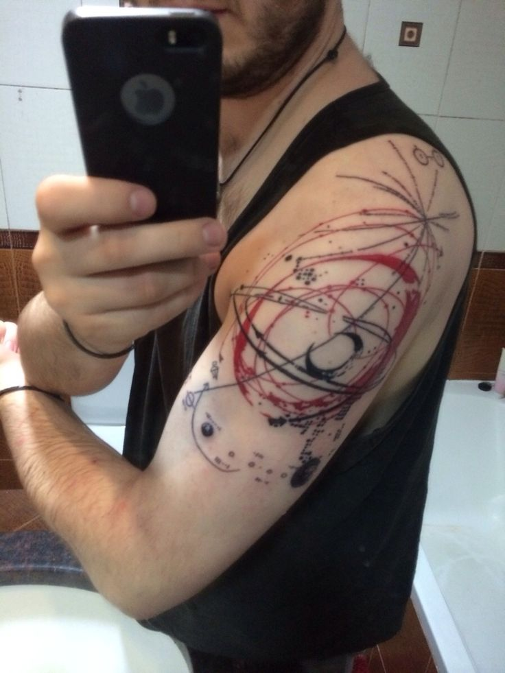 Pulsar Map Tattoo
