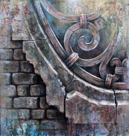 Venetian Scroll » Ian Murphy Paintings