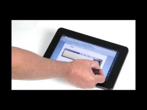 Demonstration Of The Windows 7 Input Panel With One Our Motion Tips And Tricks To Get Most From Supplied On All Tablet Pcs