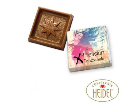 #Schokolade Quadrat-Täfelchen, #Offsetdruck | #Werbeartikel und #Werbemittel zum #Bedrucken mit Logo | Erwin Lang Werbeartikel