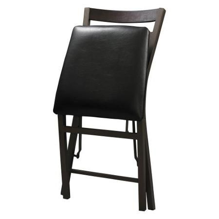 linon arista ovals folding dining chairs set of 2