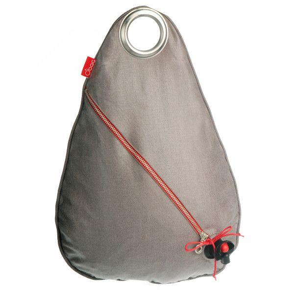 Obag' wine bag holder in teak