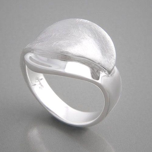 Silberring Malakka Ringgröße 52 bis 62