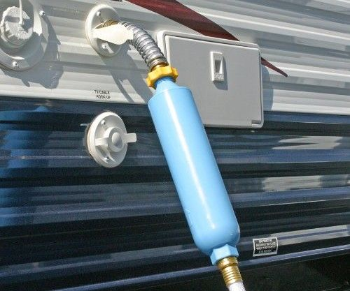 Stop drinking funny tasting water! Get this RV Water Filter by Camco and improve the quality of your RV & Motorhome experience!