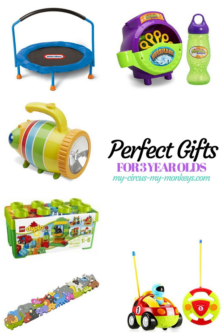 Buying gifts can be hard. Here are the perfect gifts for 3 year olds!