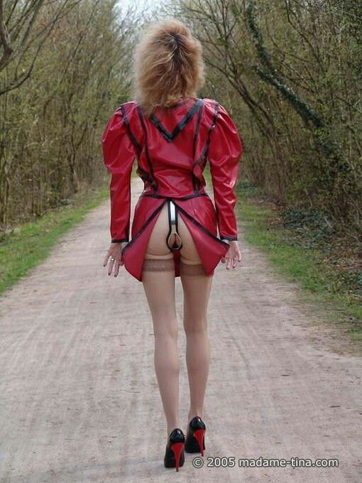 Bdsm Chastity Belt Video