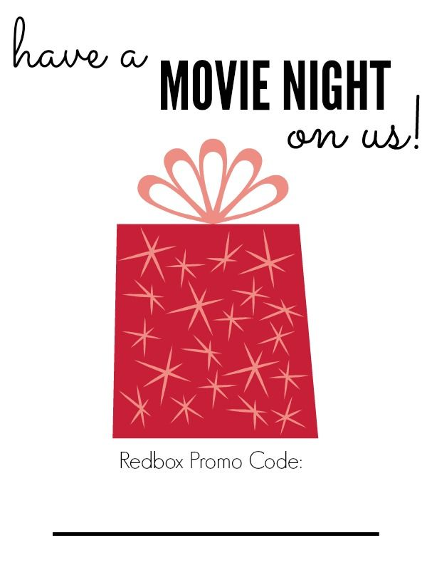 Redbox Movie Promo Code Printable   AD