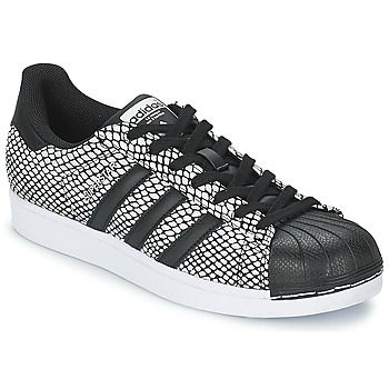 Baskets+basses+adidas+Originals+SUPERSTAR+SNAKE+PAC+Noir+89.99+€
