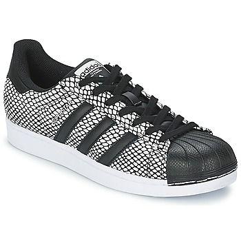Baskets+basses+adidas+Originals+SUPERSTAR+SNAKE+PAC+Noir+89.99+€