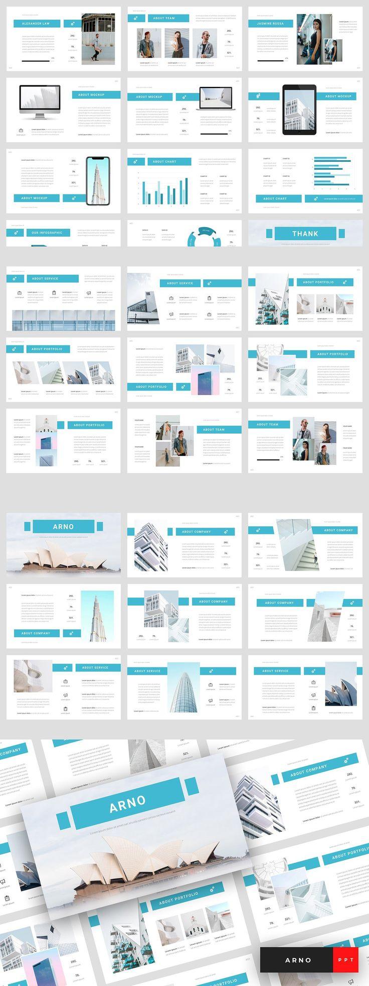 Arno Architecture PowerPoint Architecture, Creative