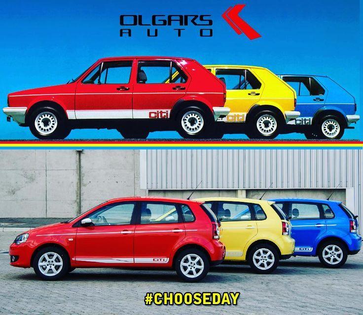 Oldie or newbie? #ChooseDay  #VW #Citi #Golf #Vivo #OlgarsAuto