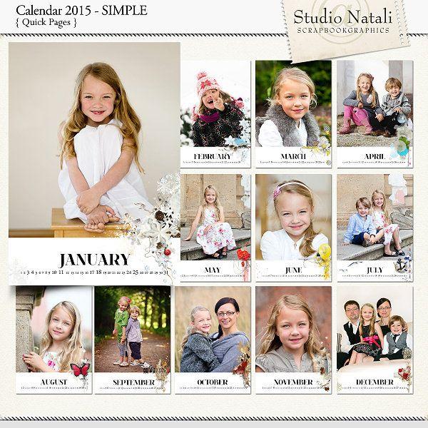 Calendar 2015 Simple