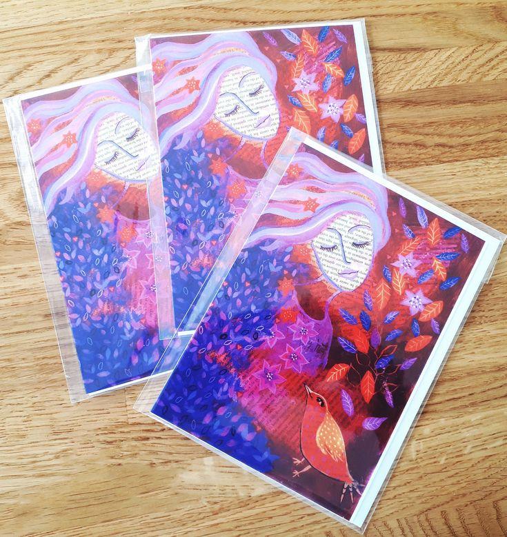 50th birthday card messages lovely purple and red girl and