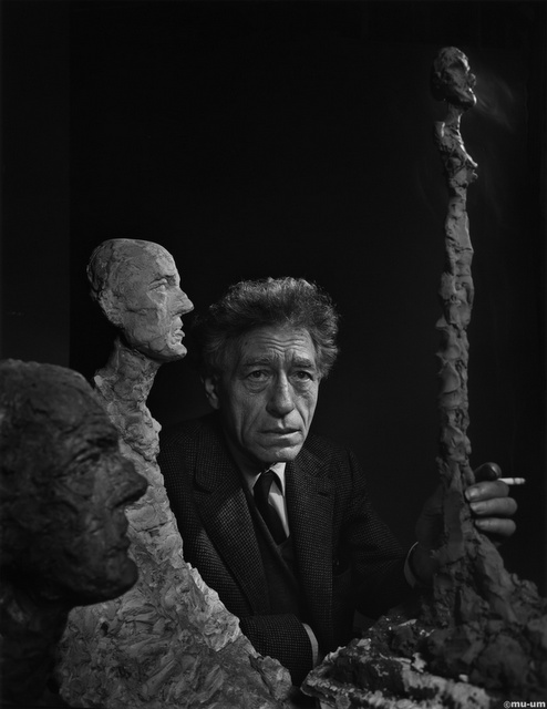 Alberto Giacometti by Yousuf Karsh