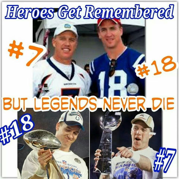I am a Denver fan...for now. I am a Peyton Manning fan for life. I go where Peyton goes! I don't make excuses....I'm a diehard Vols fan...Peyton was and will ALWAYS be a Volunteer!!!!