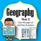 Geography Unit Year 2 Maps: Local, Regional... by Tech Teacher Pto3 | Teachers Pay Teachers
