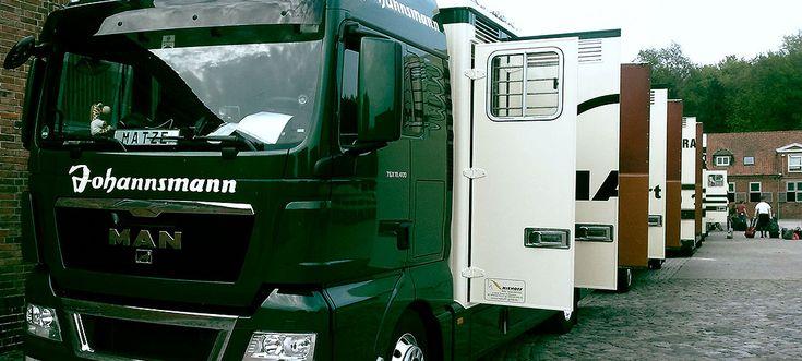 horse transportation & shipping   Johannsmann horse transport