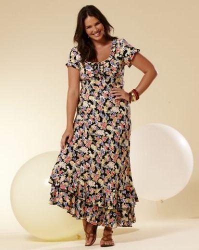 Best 25+ Floral plus size dresses ideas only on Pinterest | Plus ...