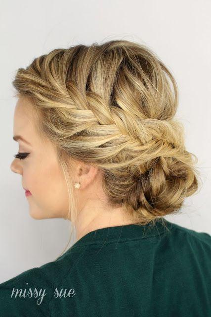 Best 25 Thin hair updo  ideas on Pinterest Thin hair