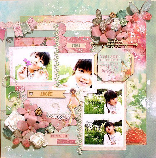 Kaisercraft Enchanted Garden - Kaori Fujimoto