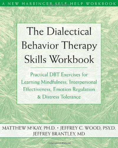 Dialectical Behavior Therapy Skills Workbook: Practical DBT Exercises for Learning Mindfulness, Interpersonal Effectiveness, Emotion Regulation, & Distress Tolerance (New Harbinger Self-Help Workbook) Matthew McKay, Jeffrey C. Wood, Jeffrey Brantley  -  I've found this to be an excellent book for providing clients with #DBT skills