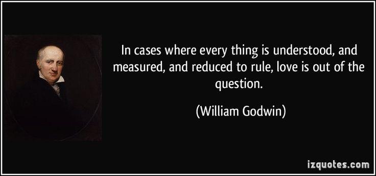 william godwin quotes - Buscar con Google