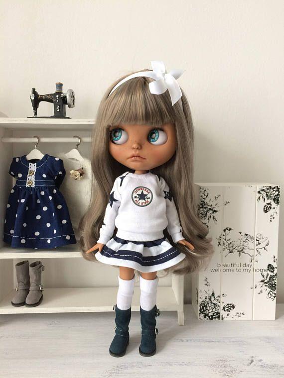 sada pro Blythe, umělecké panenky, oblečení pro Blythe, Blythe, Blythe panenka, dekor panenku, panenka pro dívky, domácí panenku, Baby Doll, oblečení pro panenku