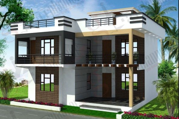Small Duplex House Design In India Duplex House Design Unique House Design Duplex House Plans