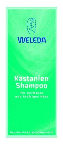 Weleda Chestnut Shampoo 100ml by WELEDA. $13.50. Weleda Chestnut Shampoo is a concentrated gel formulation shampoo made with stimulating horse chestnut extract and a mixture of essential oils to help maintain healthy-looking and manageable hair. Formulated with mild detergents to wash your hair gently but thoroughly. Especially suited to robust hair. Regular use helps normalise greasy hair.